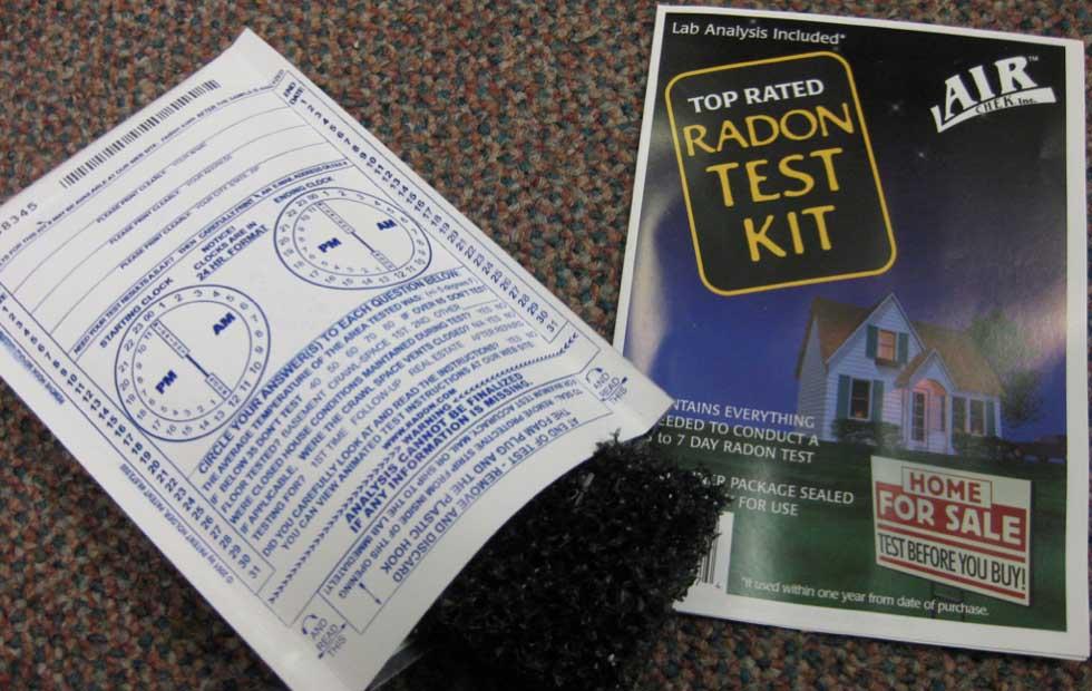 Radon Test Kit - Top Rated